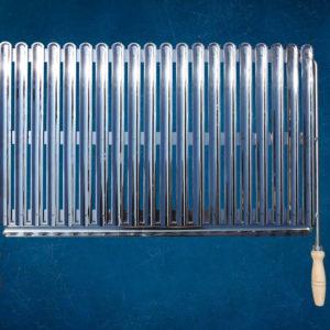 Roštilj rešetka 75 cm Inox