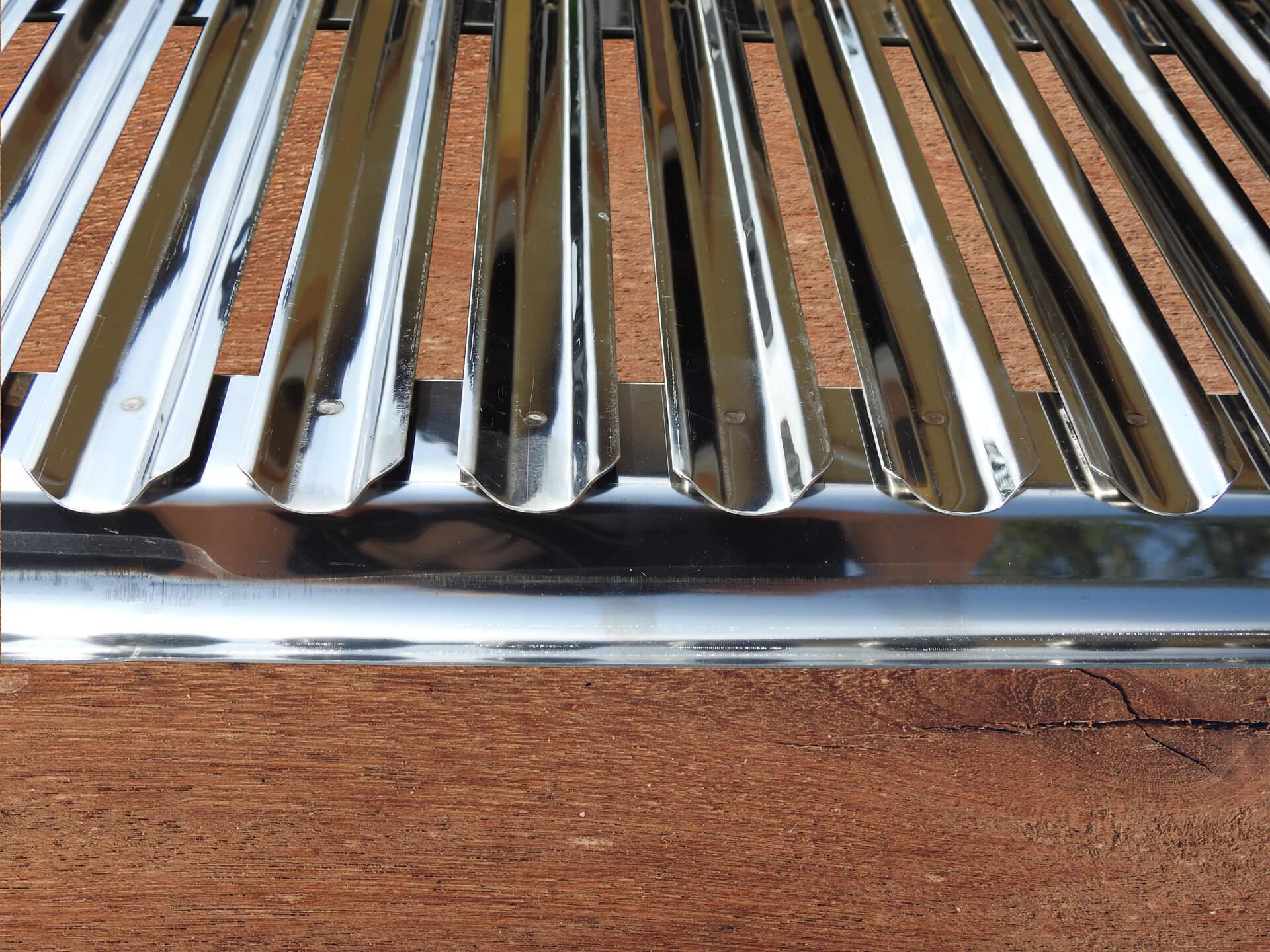 Roštilj rešetka 81cm Inox